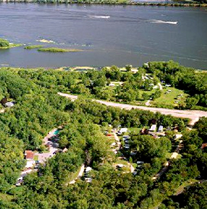 winona, minnesota, pla-mor, campground, mississippi, river