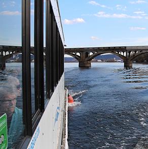 winona, minnesota, river, tour, boat, bridge