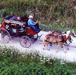 lanesboro, stage, line, horses, our, traditional, antique, coach, ride, minnesota, winona