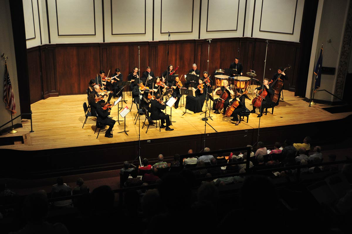 winona minnesota beethoven festival players on stage winona state university