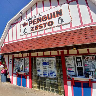 Penguin-Zesto-Winona-Minnesota-Ice Cream-Desserts-Summer-Burgers